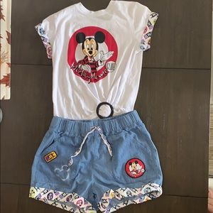 Mickey Mouse Club outfit